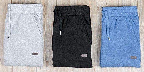 Zinray Herren Jogginghose in 3 Farben und vielen Größen ab 10,39€