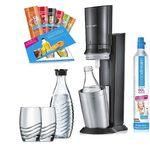 SodaStream Crystal 2.0 Promopack mit 2 Glas-Karaffen + 2 Gläsern für 104,99€ (statt 126€)