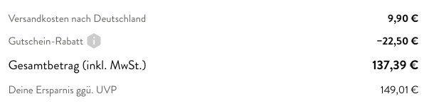 Knaller! Knirps Silver Kurbelschirm mit 290cm Durchmesser für 137,39€ (statt 280€)