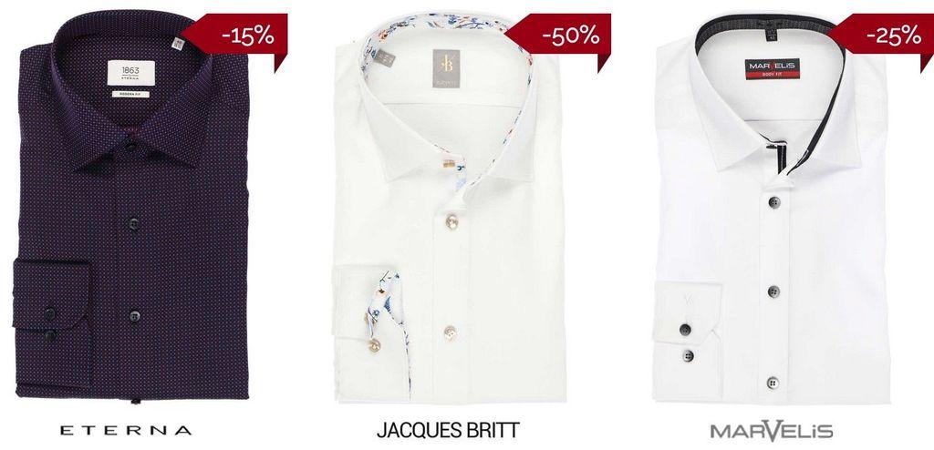 Hemden.de Sale + 17% Extra Rabatt   TIPP!