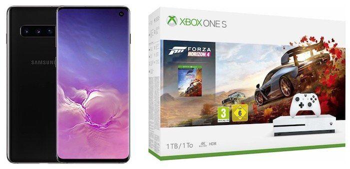 Samsung Galaxy S10 + Xbox One S Forza Horizon 4 Bundle für 79€ + Vodafone Flat mit 6GB LTE für 36,99€ mtl.