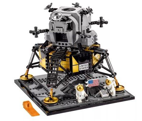 Lego Creator Expert   NASA Apollo 11 Mondlandefähre für 89,99€ (statt 130€)