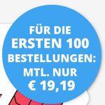 🔥Knaller! Telekom Flat von Sparhandy mit 12GB LTE für 19,19€ mtl. + 10GB gratis für 1 Monat dazu