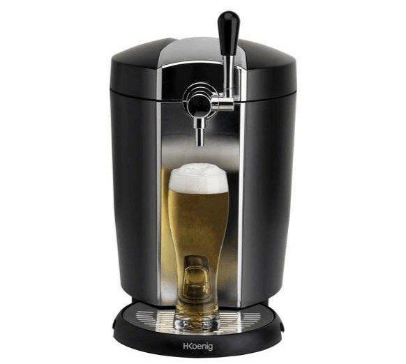 Pricedrop! H.Koenig Bierzapfanlage BW1778 für alle 5 Liter Fässer für 67,12€ (statt 114€)