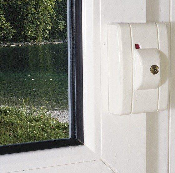 Abus FTS99 AL0125 Fenster Automatikschloss für 43,55€ (statt 54€)