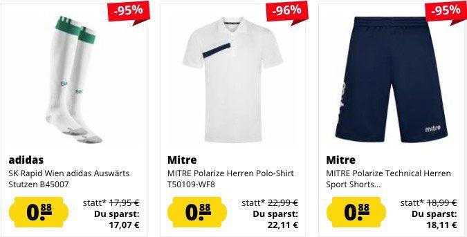 SportSpar Randgrößen Sale mit Artikeln für je nur 0,88€ + VSK