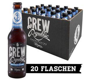 Crew Republic Bier ohne Versandkosten   z.B. 20 x 0,33L Drunken Sailor India Pale Ale für 25,12€(statt 34€)