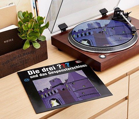 Die drei ??? und das Gespensterschloss Picture Vinyl LP ab 13,50€ (statt 30€)