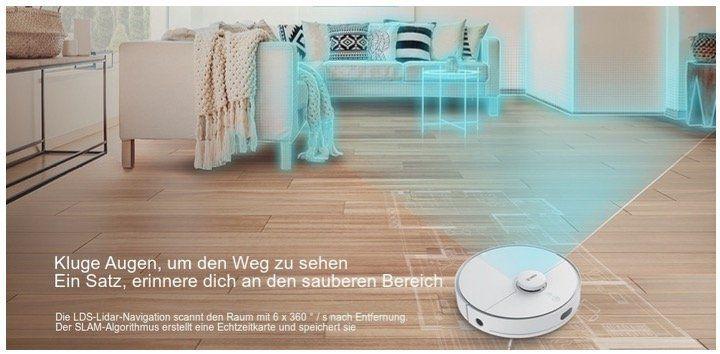 360 S5 Saugroboter mit 2.000Pa Saugstärke + App Steuerung für 239,99€ (statt 300€)   aus DE