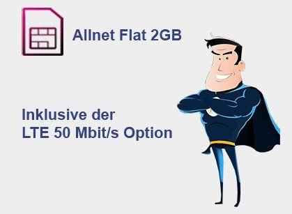 Abgelaufen! Telekom Allnet Flat mit 2GB LTE für 9,99€ mtl.
