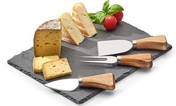 ZELLER 4 tlg. Käseservier Set für 7€ (statt 15€)