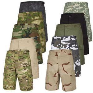 Urbandreamz Herren US Army Cargoshorts mit Camouflage für 19,90€