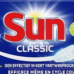 266er Pack Sun Classic Geschirrspültabs für 22,90€ – 0,09€ pro Spülgang