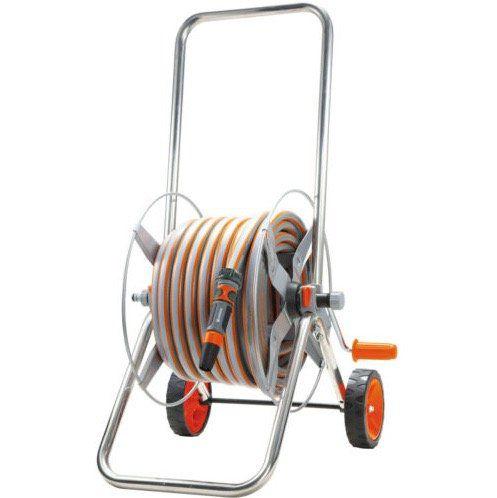 Gardena Metall Schlauchwagen Set mit 20m Schlauch für 39€ (statt 50€)