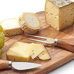 ZELLER Käseschneidebrett inkl. Käsegabel und Spatenmesser für 10€ (statt 22€)