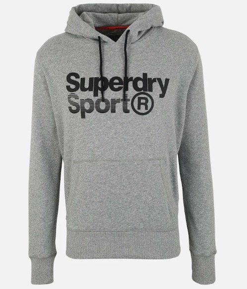 Superdry Herren Sportsweatshirt Core Sport Overhead für 29,67€ (statt 51€)