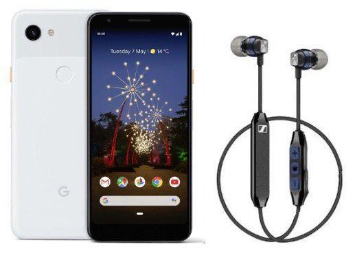 Knaller! Google Pixel 3a mit Sennheiser CX6 für 49€ + Vodafone Flat mit 1GB LTE für 11,99€ mtl.