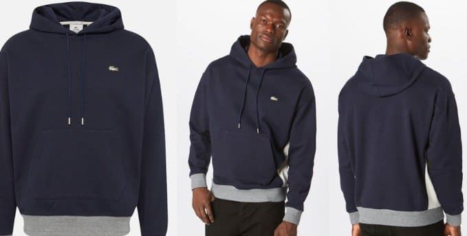 Lacoste Sweatshirt Live in XS bis L für 67,92€ (statt 120€)