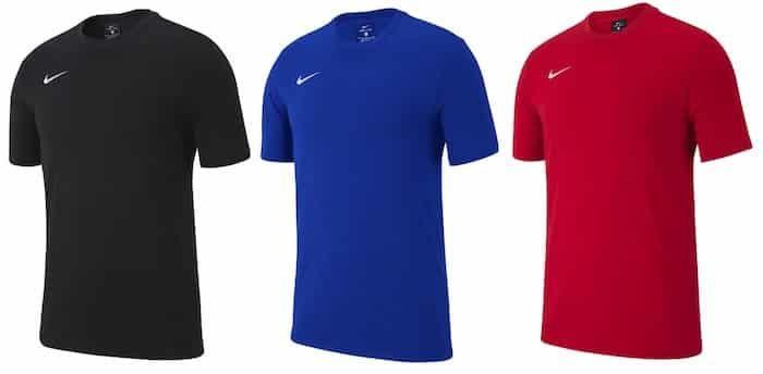 3er Pack Nike Team Club 19 Tee Shirt für 32,95€ (statt 45€)
