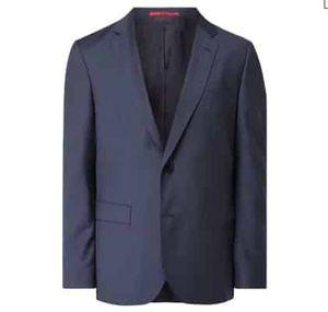 Hugo Regular Fit Anzug aus Schurwolle mit 2 Knopf Sakko für 319,20€(statt 399€)