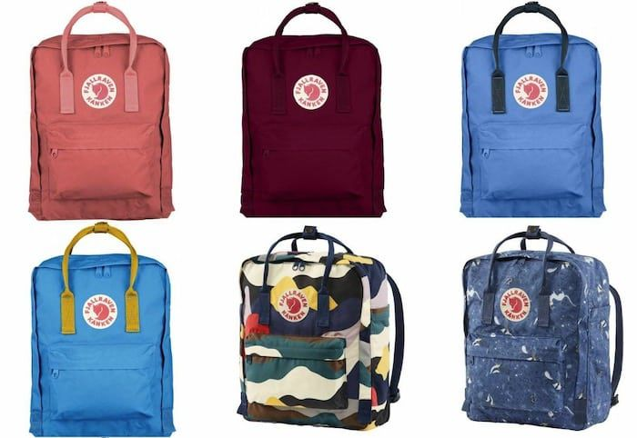 Fjällräven Kanken Rucksack mit Sitzkissen in vielen Farben für je 64,90€
