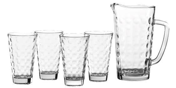 Leonardo Gläser Set mit Krug für 9€ (statt 15€) oder Wasserkaraffe Brioso für 12,50€ (statt 19€)