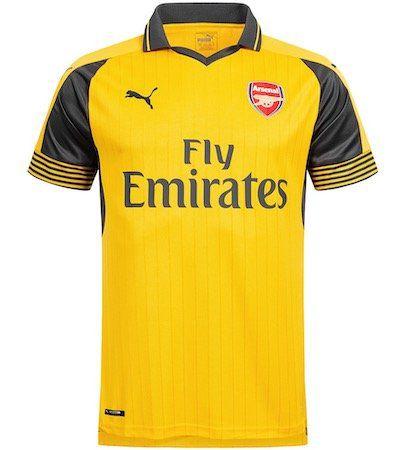 Puma FC Arsenal London Away Trikot 2016/2017 für 23,94€ (statt 31€)