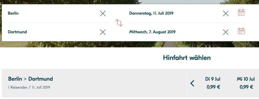 Busfahrten durch Deutschland ab 0,99€ bei BlaBlaBus   z.B. Berlin nach Dortmund