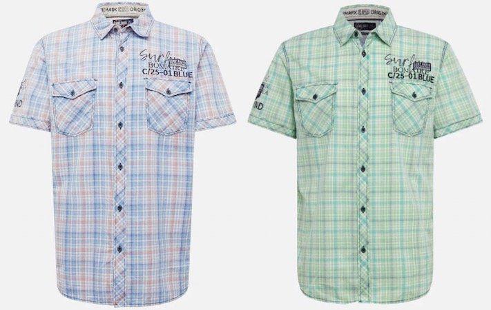 Camp David Male Hemd in 2 Farben für je 33,92€(statt 55€)