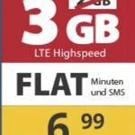 TOP! o2 Allnet PremiumSIM 3GB LTE nur 6,99€ mtl. + keine Anschlussgebühr bei Laufzeit