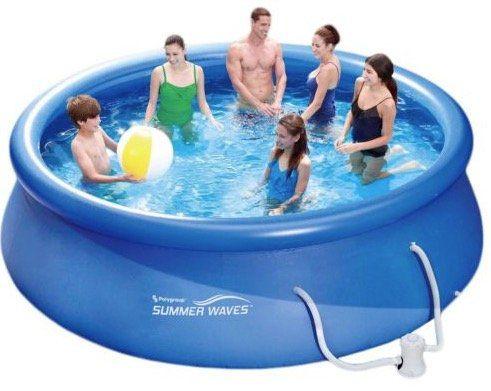 Summer Waves Fast Pool Set (366 x 91 cm) mit Kartuschenfilter für 59,95€ (statt 99€)