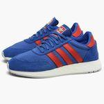 adidas Originals I-5923 Unisex-Sneaker in Blau/Rot für 43,60€ (statt 62€)