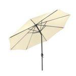 Gartenfreude Sonnenschirm mit 270cm / 300cm Durchmesser ab 42,99€ (statt 70€)