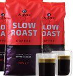 Geht wieder! 4kg Altezza Slow Roast Kaffeebohnen + 2 doppelwandige Kaffeegläser für 29,99€ (statt 45€)