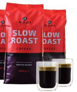4kg Altezza Slow Roast Kaffeebohnen + 2 doppelwandige Kaffeegläser für 29,99€ (statt 45€)