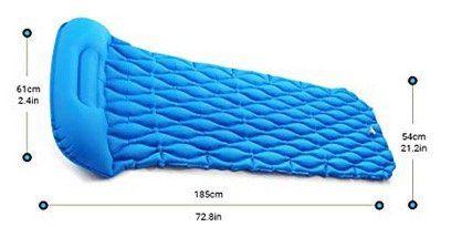 Icefox aufblasbare Isomatte für 23,99€ (statt 40€)