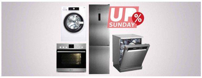 OTTO UpSunday: 10% Gutschein auf Bauknecht Haushaltselektronik z.B. Kühlschranke, Waschmaschinen