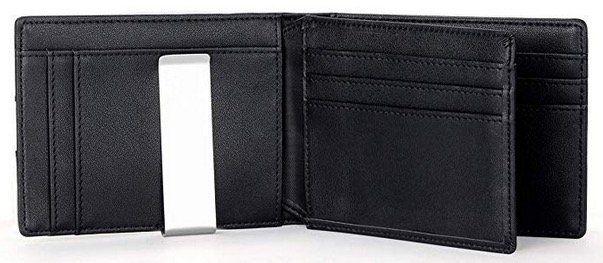 Vemingo Herren Geldbeutel mit Geldklammer und RFID Blocker in drei Farben nur 9,99€ (statt 20€)