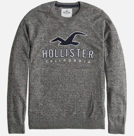 Hollister Core Graphic Crew 4CC Pulliver für 21,16€ (statt 37€)   nur S, M, L