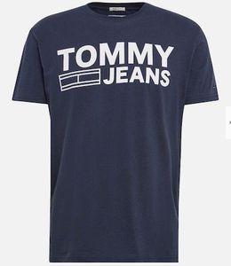 Tommy Jeans T Shirt mit Classic Logo für 24€ (statt 31€)   nur M, L, XL