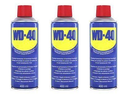 6er Pack WD 40 Multifunktionsöl (je 400ml) für 21,42€