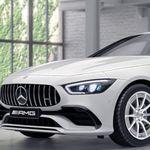 Mercedes AMG GT 43 in Weiß mit 367 PS im Gewerbe-Leasing für 839€ mtl. brutto
