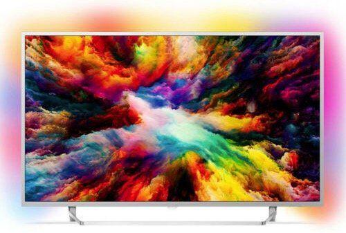 Philips 50PUS7383   50 Zoll UHD Fernseher mit 3 seitigem Ambilight für 409,50€ (statt 499€)