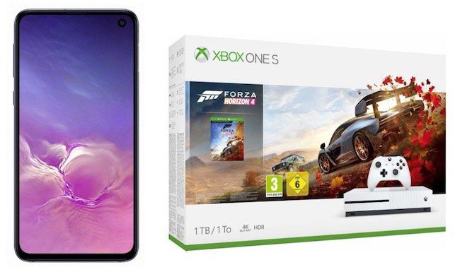 Knaller! Samsung Galaxy S10e + Xbox One S 1TB Forza Bundle nur 49€ + Vodafone Flat mit 6GB LTE für 26,99€ mtl.