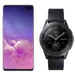 Samsung Galaxy S10+ mit 512GB Weiss inkl. Galaxy Watch mit LTE für 99€ + Telekom Flat mit 11GB Daten für 36,99€mtl.