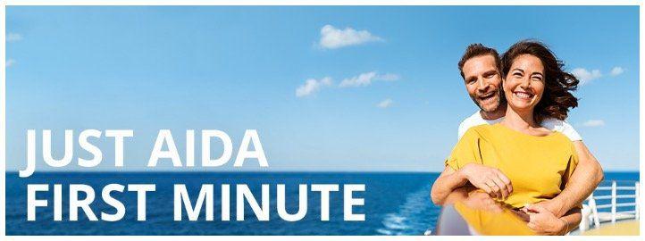 🚢 Neue AIDA First Minute Angebote   z.B. 7 Tage Mittelmeer mit AIDAsol ab 549€ p.P. inkl. Flug