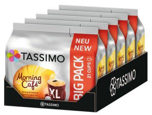 105er Pack Tassimo Morning Café XL Kaffee Kapseln für 19,58€(statt 25€)