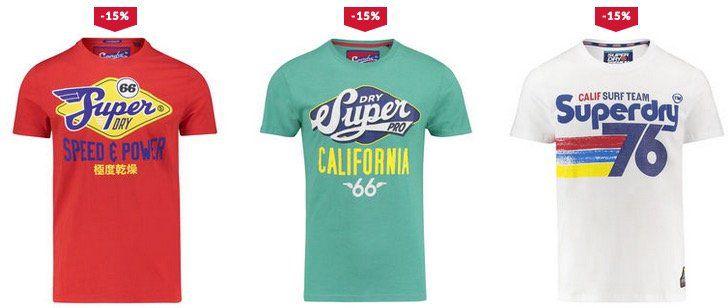 Superdry Sale bei engelhorn mit 15% Amazon Pay Rabatt z.B. T Shirt Vintage Logo für 21,16€ (statt 31€)