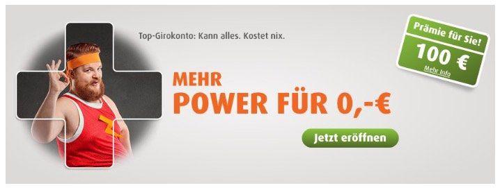 Kostenloses Girokonto der norisbank + 100€ Prämie erhalten    jetzt auch mit Apple Pay