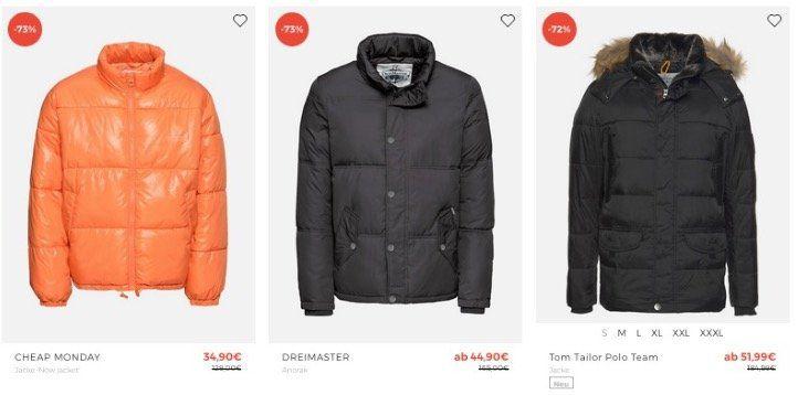 Jacken Sale bei About You bis 70% Rabatt + 15% Extra Rabatt
